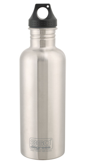 360° degrees Stainless - Recipientes para bebidas - 1000ml gris